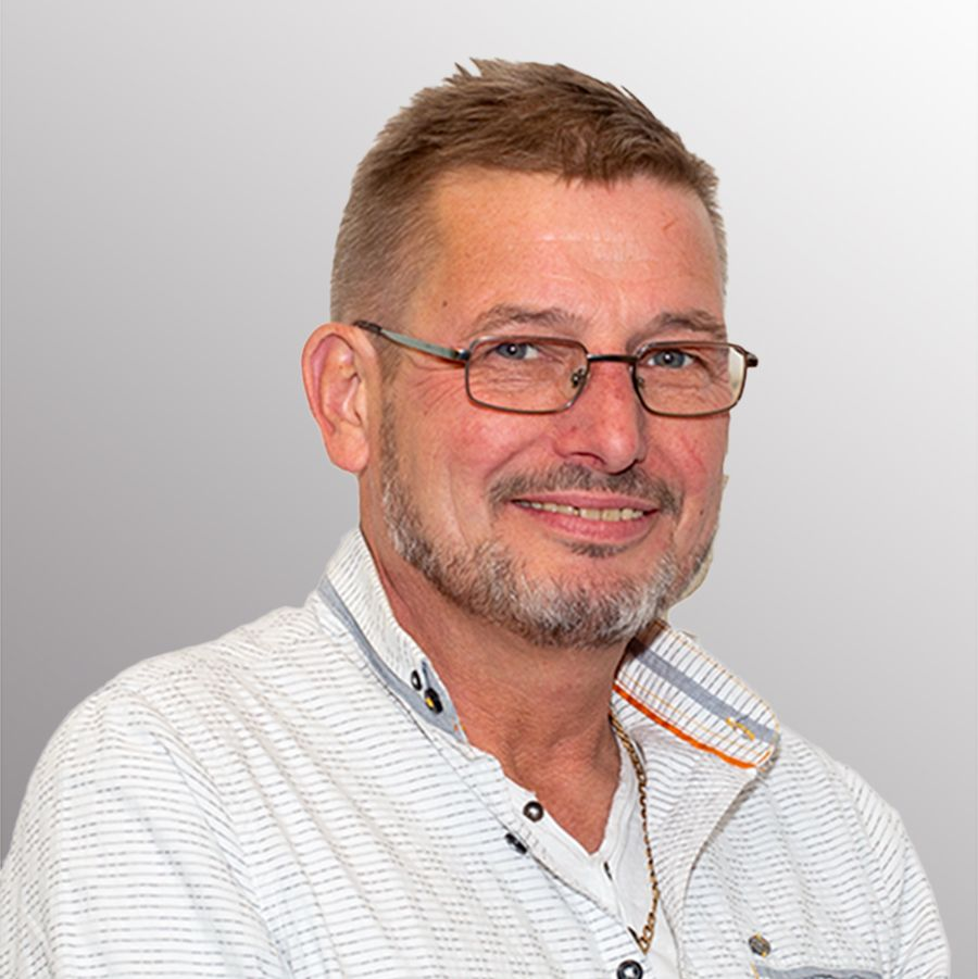 Portrait Herr Peter Georgi